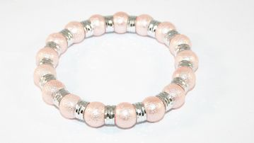1pce x Glass blister moon pearl bracelet - £2.99 each